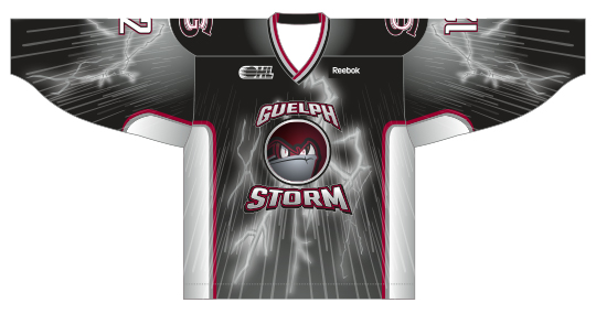 Guelph Storm Warmup Jersey Image