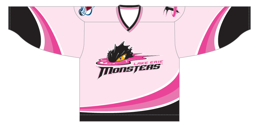 Lake Erie Breast Cancer Jersey Image