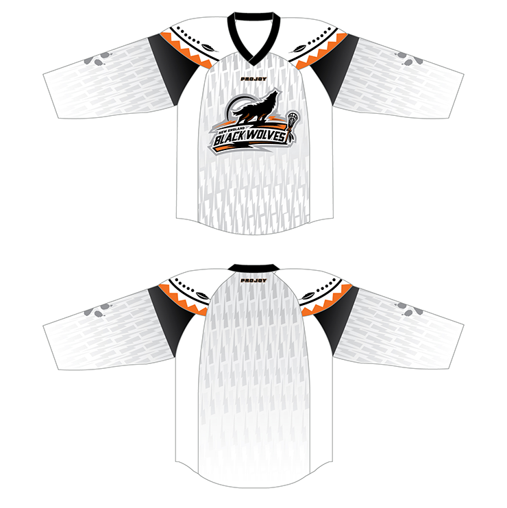 New England Black Wolves Jerseys Image
