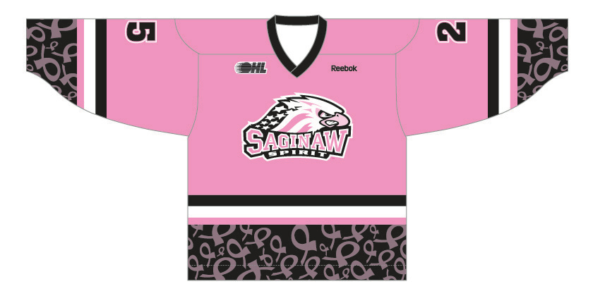 Saginaw Breast Cancer Jersey Image
