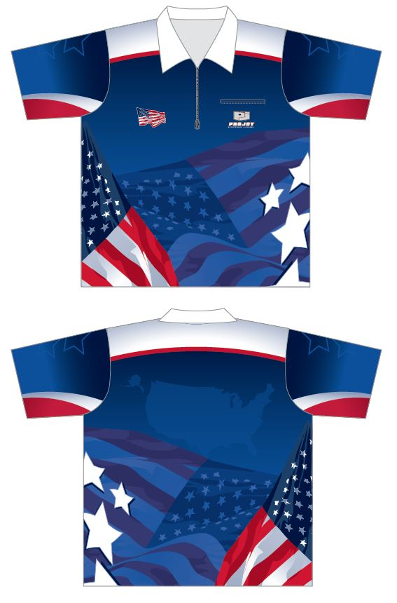 Stars and Stripes Dart Shirt Image