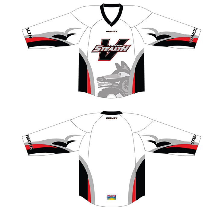 Vancouver Stealth Jerseys Image