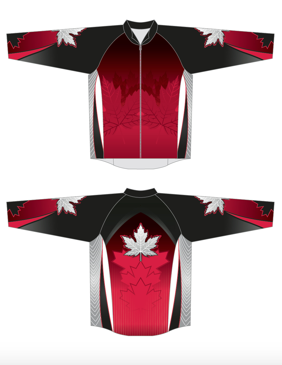 Curling Jacket Canada Style Image