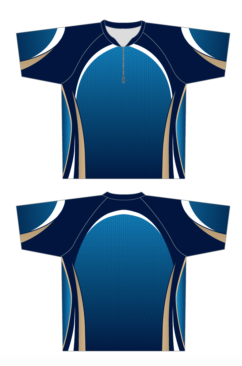 Curling Shirt Blue Image