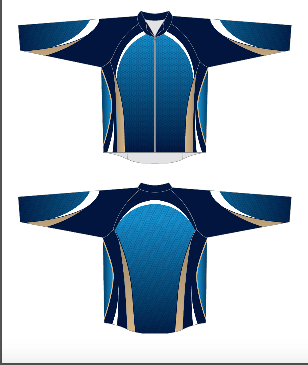 Curling Jacket Blue Image
