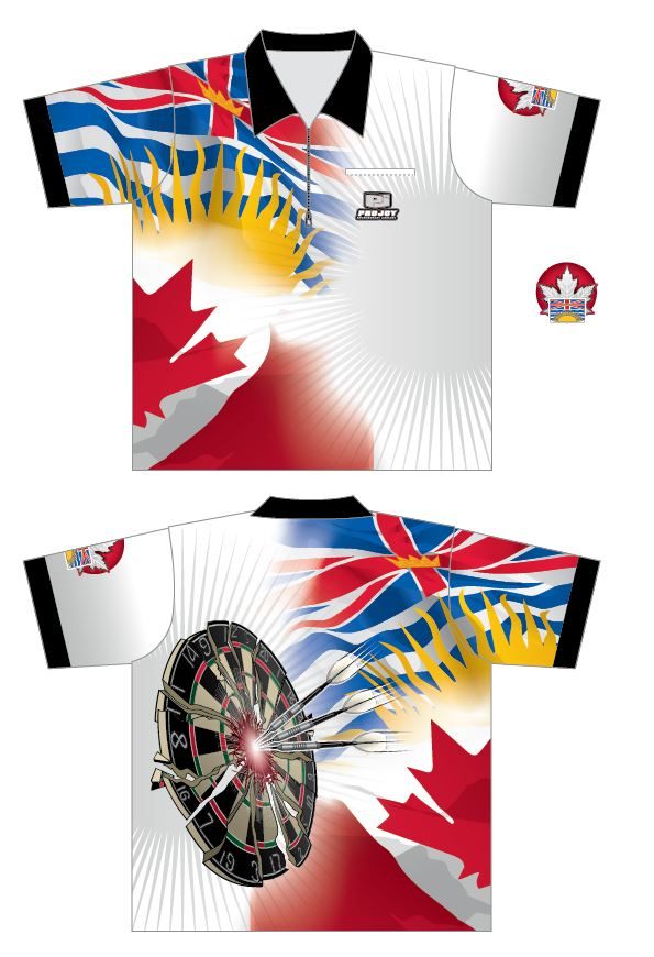NEW - British Columbia Dart Shirt Image