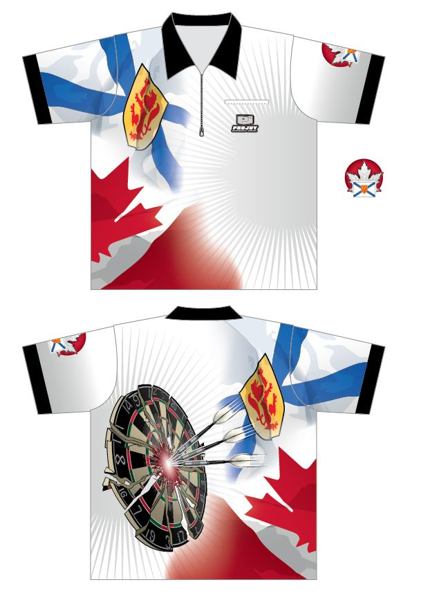 NEW - Nova Scotia Dart Shirt Image