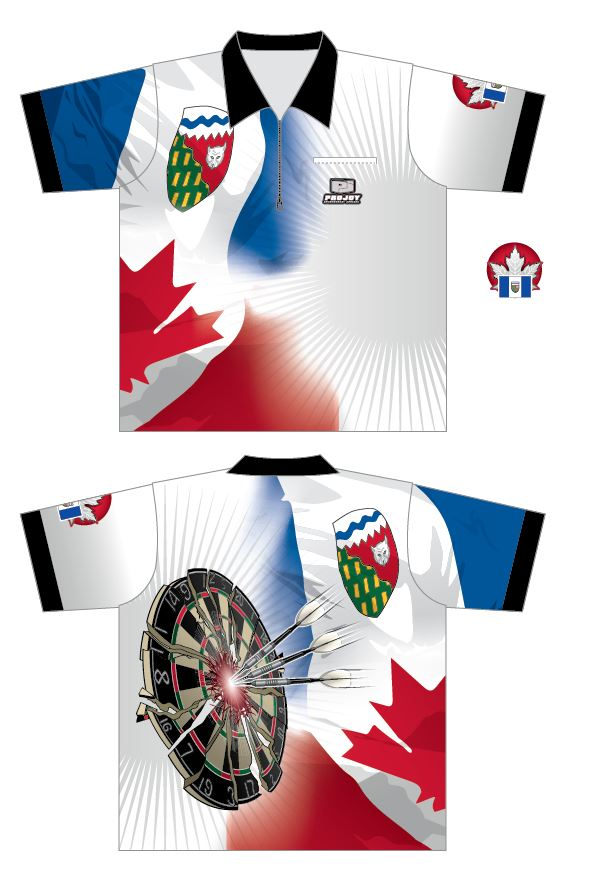 NEW - Northwest Territories Dart Shirt Image